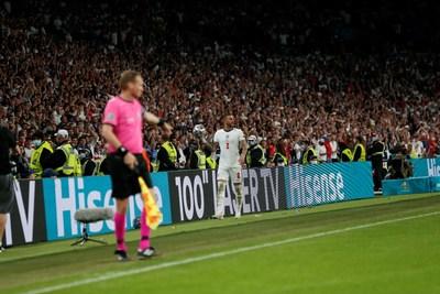 Final de la Eurocopa 2020, aspectos destacados de ITALIA versus INGLATERRA (PRNewsfoto/Hisense)