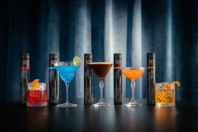 Bols Ready to Enjoy Cocktails will be available in unique 200ml Bols Cocktail Tubes ($6.99 / € 5,99), a sustainable packaging designed to preserve exceptional taste and quality. The black tube is sleek, stylish, and compact enough for your pocket or purse.