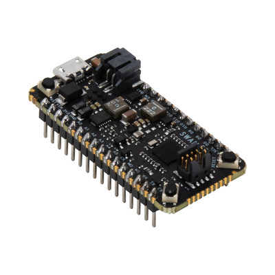 Blues Wireless Swan - a low-cost embeddable STM32L4+ based microcontroller board designed to accelerate the development and deployment of battery-powered IoT solutions. When operating in its low-power operating mode, the entire Swan board commonly draws only about 8uA while retaining all of its memory.